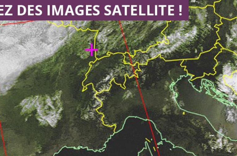 Introduction à la réception d'images satellite